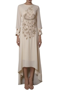 ivory-high-low-embroidered-dress