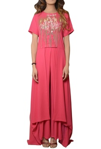 pink-tunic-with-pleated-pants