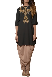 black-tunic-with-dhoti-pants
