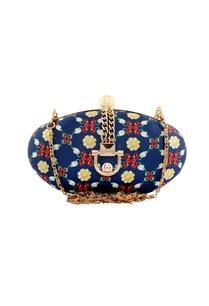 blue-floral-printed-festive-clutch