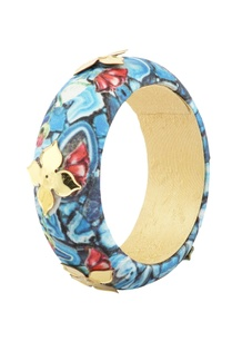 blue-floral-printed-bangle