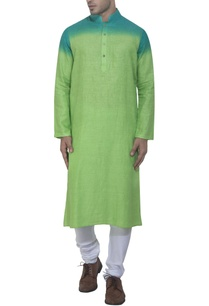 blue-green-ombre-kurta