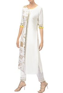 ivory-dupion-silk-kurta-with-embroidered-cotton-pants
