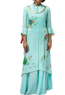 mint-blue-georgette-asymmetric-jacket-with-gown