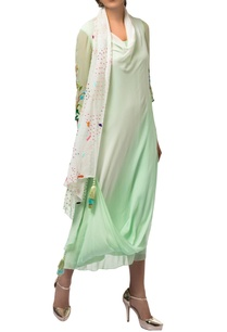 green-ivory-sequin-resham-embroidered-draped-tunic-with-churidar
