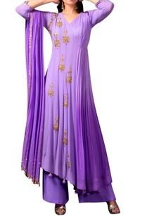 lavender-purple-angarakha-kurta-set