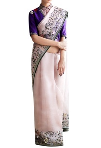 purple-pink-embroidered-sari-blouse