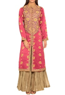 pink-embroidered-kurta-palazzos