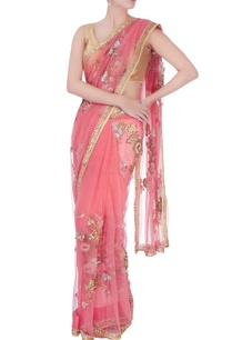 pink-sequin-embellished-sari-blouse-piece