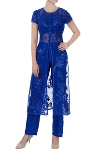 blue-sequin-embroidered-jacket-set