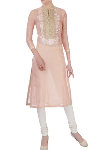 peach-zardozi-embroidered-kurta