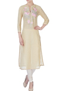 beige-kurta-in-floral-embroidery