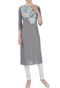 grey-kurta-in-resham-embroidery