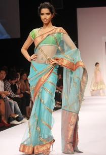 blue-net-embroidered-sari-blouse
