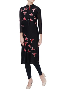 black-sequin-embroidered-kurta