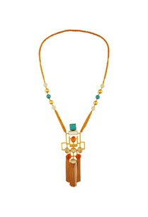multicolored-gold-plated-necklace
