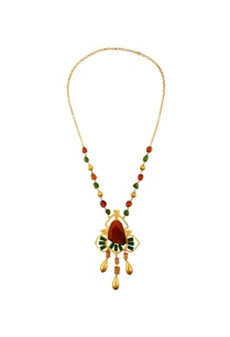 yellow-green-kundan-necklace