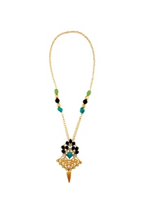 multicolored-gold-plated-kundan-necklace