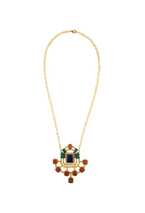 multicolored-kundan-statement-necklace
