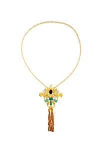 black-blue-kundan-work-necklace