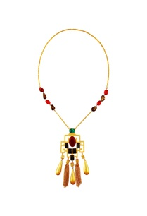 multicolored-stone-long-necklace