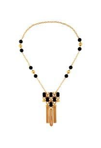 black-stone-work-statement-necklace