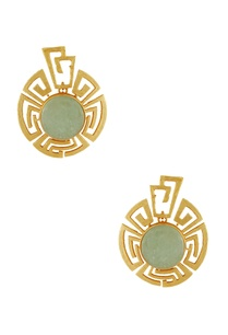 gold-plated-earrings-with-olive-stones