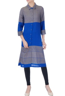 blue-grey-shirt-collar-kurta