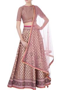 pink-silk-lehenga-set