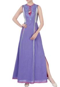 purple-bird-motif-embroidered-dress