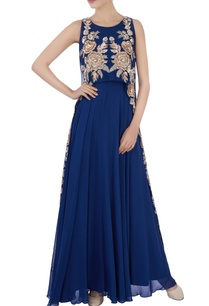 blue-anarkali-with-cape-layer