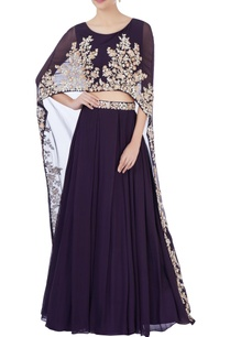 purple-high-waist-lehenga-cape