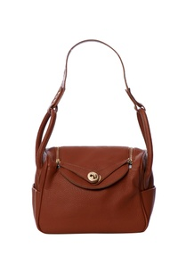 brown-handbag-with-gold-toned-zippers