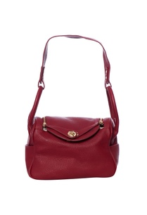 maroon-handbag-with-gold-toned-zippers