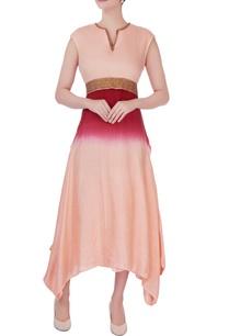 red-zari-embroidered-midi-dress