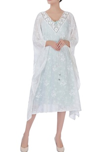 white-printed-cutwork-kaftan