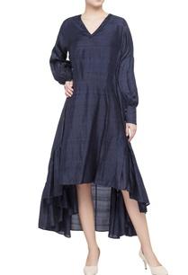 blue-shibori-pattern-dress