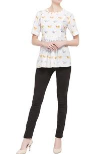 white-blouse-in-multicolored-bird-motifs