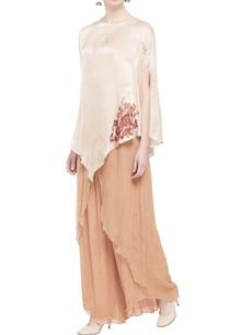beige-silk-blouse-palazzos