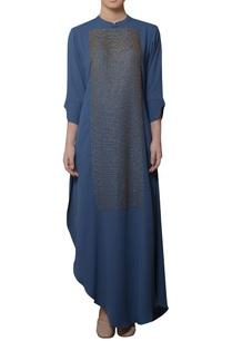 blue-asymmetric-style-kurta