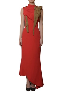 coral-red-bead-work-gown