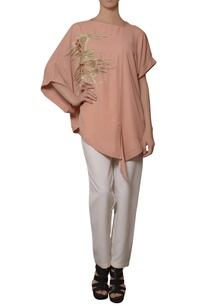 peach-hand-embroidered-blouse