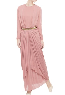 rose-pink-drape-maxi-dress