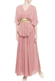 light-pink-layered-maxi-dress