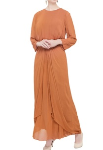 orange-layered-style-gown