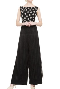black-embroidered-tassel-jumpsuit