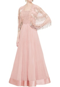 rose-pink-tassel-anarkali-with-attached-cape