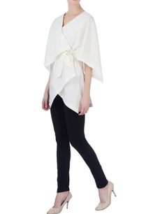 white-cotton-wrap-blouse