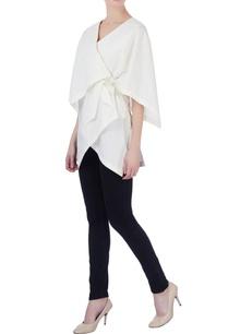 white-cotton-wrap-blouse
