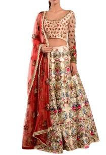pink-floral-silk-lehenga-set